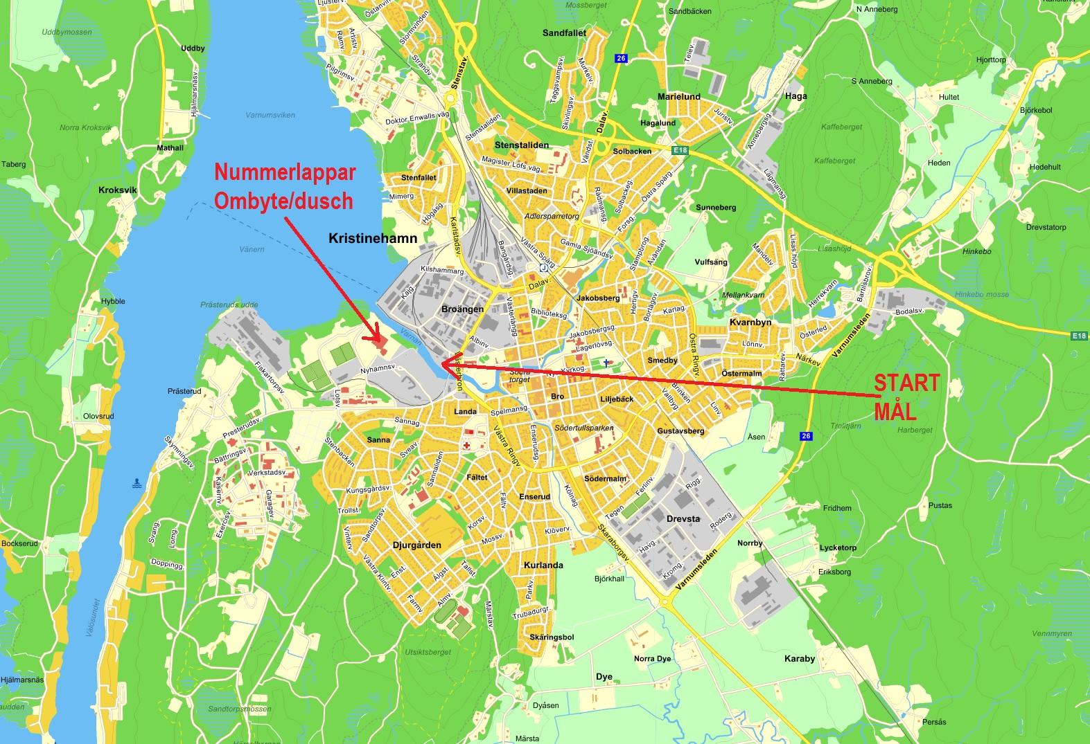 karta kristinehamn Hitta hit | Sweden IronTrail Marathon karta kristinehamn
